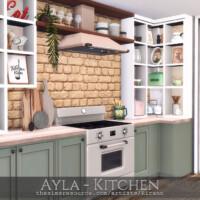Ayla Kitchen By Rirann