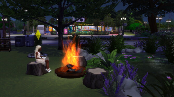 Sims 4 Children can light campfire and bonfire and also fire dance at Mod The Sims 4
