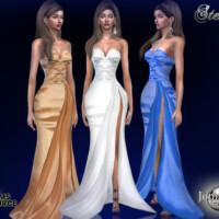 Stendy Long Evening Dress By Jomsims
