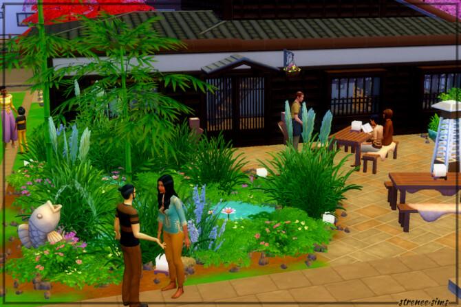 Sims 4 Kobe Teppanyaki restaurant at Strenee Sims