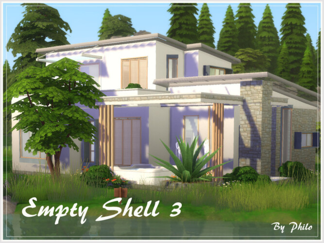 Empty Shell 3 House By Philo