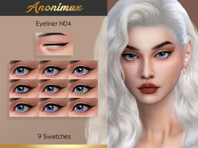 Eyeliner N04 By Anonimux Simmer