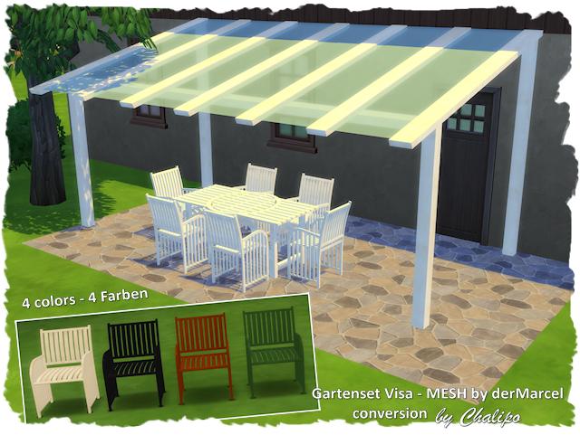 Visa Garden Set By Chalipo