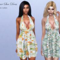 Summer Sun Dress By Pizazz