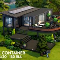 Oak Container By Xogerardine