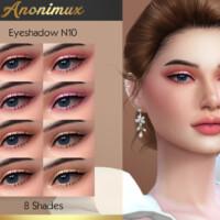 Eyeshadow N10 By Anonimux Simmer