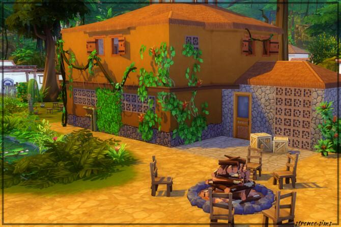 Sims 4 Tree Top Bar & Grill at Strenee Sims