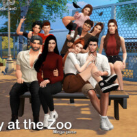 Day At The Zoo (mega Pose) By Beto_ae0