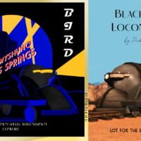 Black Bird Locomotive By Pinkcherub