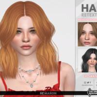 Abigail Hair Retexture By Remaron
