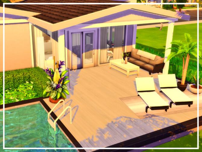 Sims 4 Bachelors Tiny House by simmer adelaina at TSR