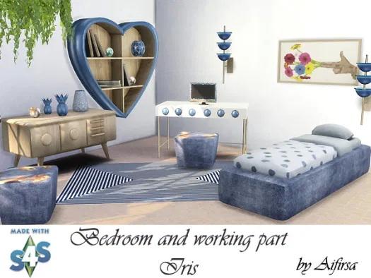 Iris Bedroom And Working Part