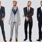 Theodore Business Suit By Mclaynesims