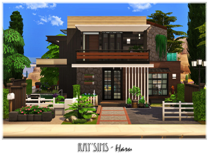Haru House By Ray_sims
