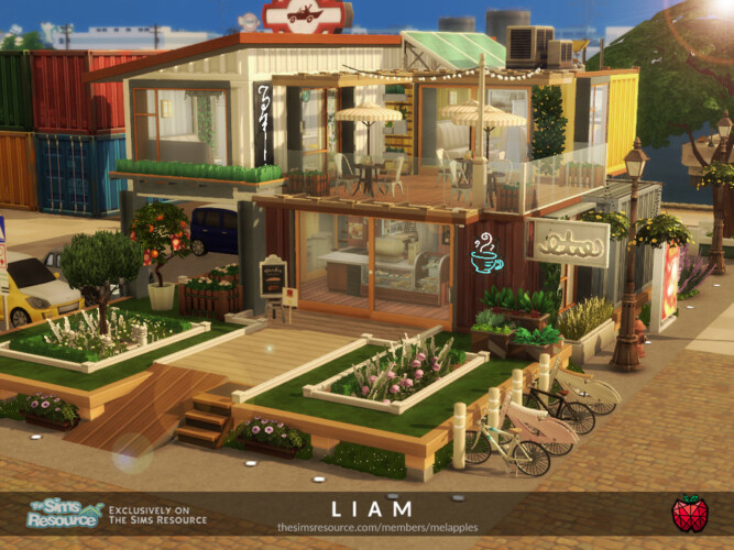 Liam Cafe By Melapples