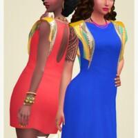 Alomar Dress In 2 Versions At Joliebean