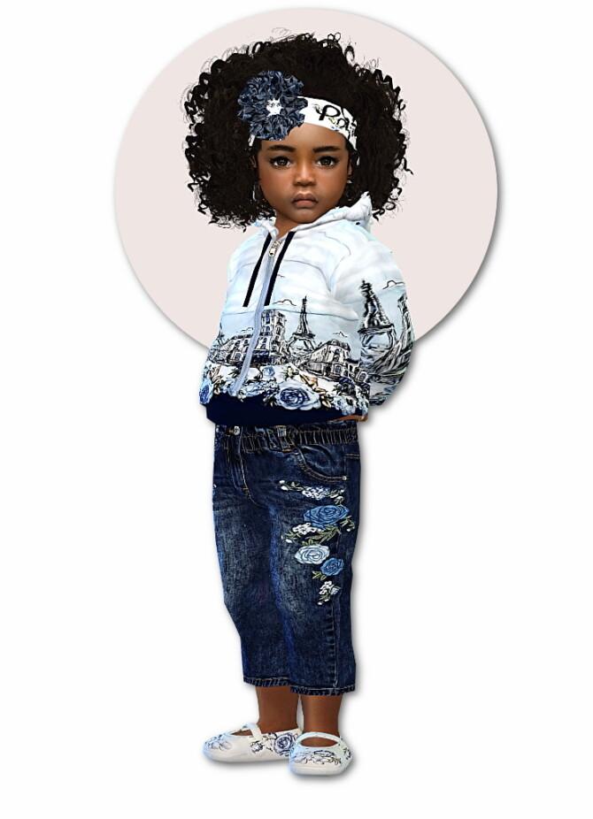 Sims 4 Designer Set for Toddler Girls Pt II at Sims4 Boutique