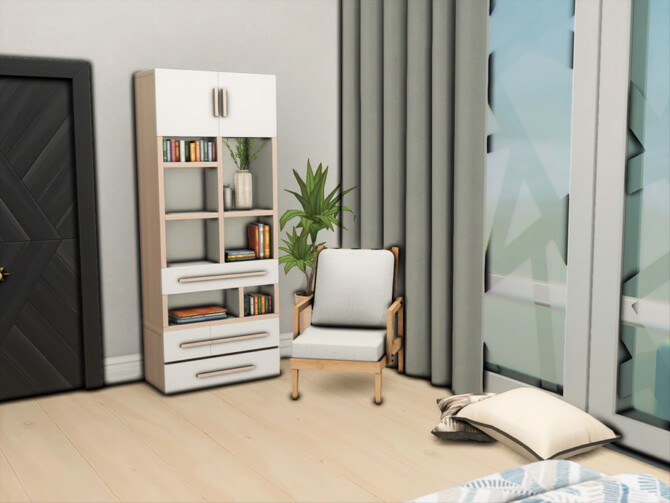 Sims 4 1010 Alto Apartments Master Bedroom by xogerardine at TSR