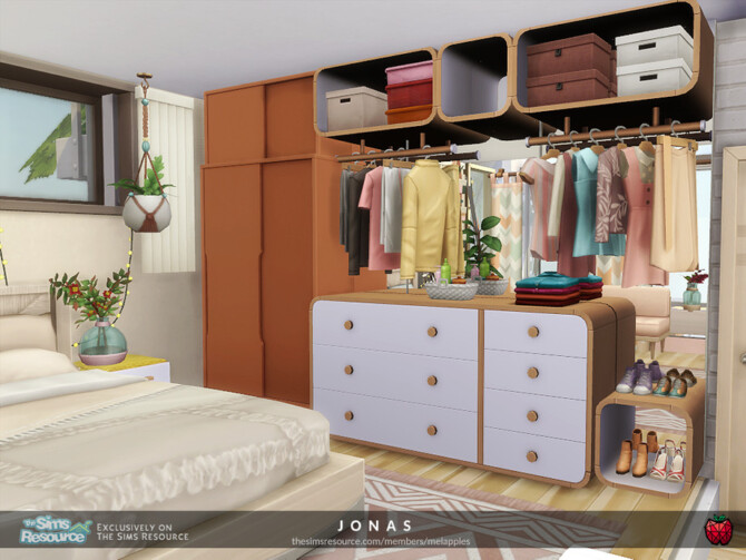 Sims 4 Jonas small home by melapples at TSR