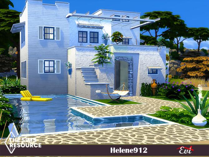 Sims 4 Helene 912 villa by Evi at TSR