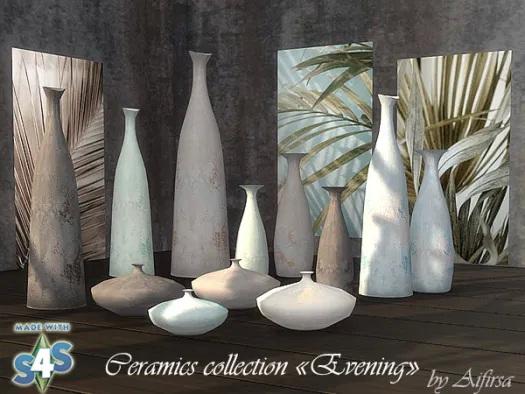 Sims 4 Ceramics Сollection at Aifirsa