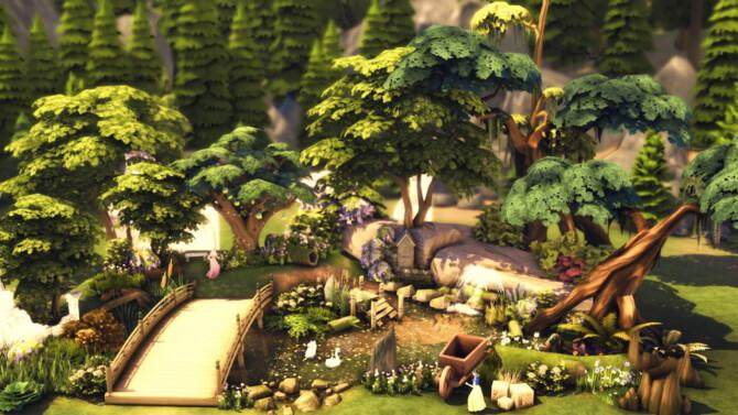Sims 4 SNOWHITE POND at RUSTIC SIMS