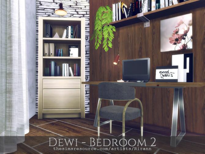 Sims 4 Dewi Bedroom 2 by Rirann at TSR