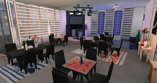 Sims 4 Under the projectors Karaoke Bar at Simsontherope