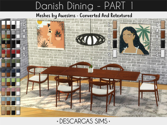 Sims 4 Danish Dining at Descargas Sims