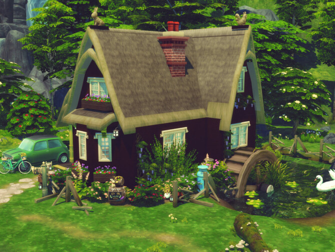 Sims 4 Farm Start by GenkaiHaretsu at TSR