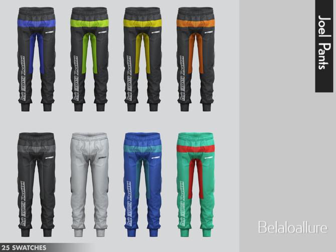 Sims 4 Belaloallure Joel pants by belal1997 at TSR