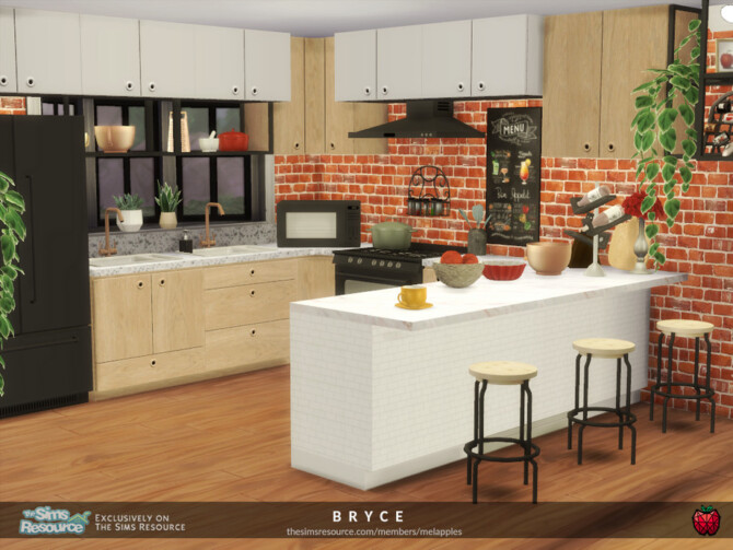 Sims 4 Bryce house by melapples at TSR