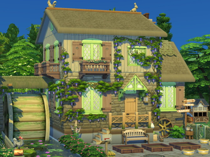 Sims 4 The Mill house by Flubs79 at TSR