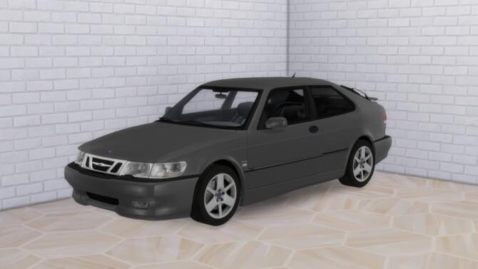 Sims 4 2002 Saab 9 3 Aero Coupe at Modern Crafter CC