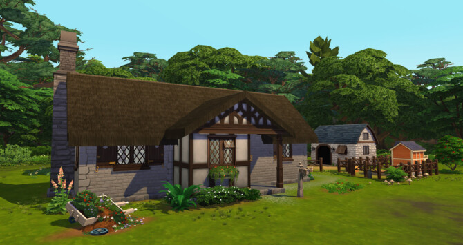 Sims 4 Ruined Barn & Departure to the Countryside at Simsontherope