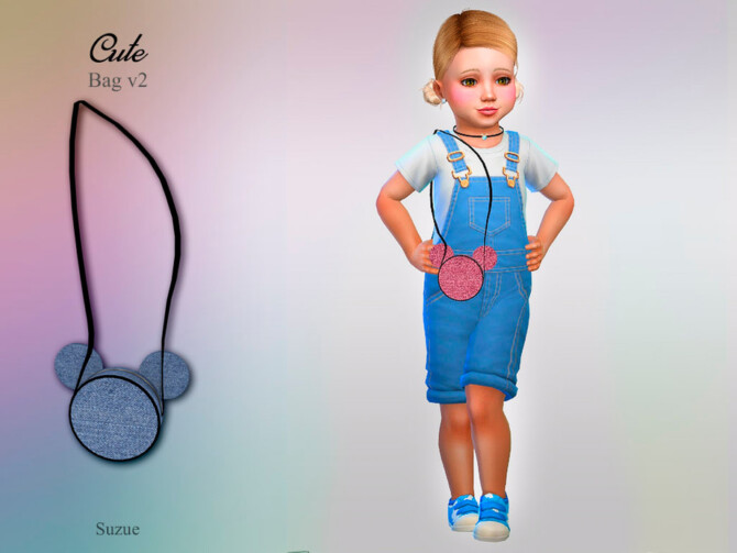 Sims 4 Cute Bag v2 Toddler by Suzue at TSR