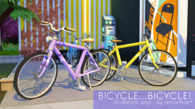 Sims 4 BICYCLE at Picture Amoebae