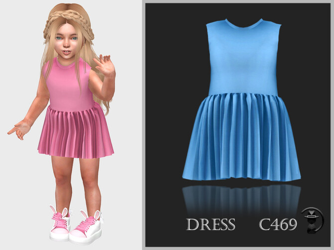 Sims 4 Dress C469 by turksimmer at TSR