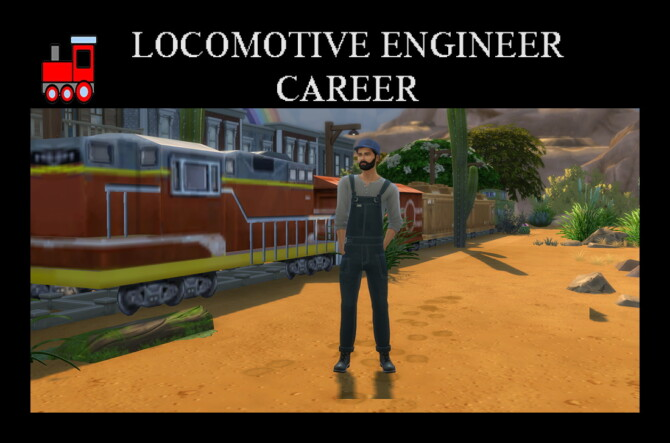 Sims 4 Locomotive Engineer Career by Simmiller at Mod The Sims 4
