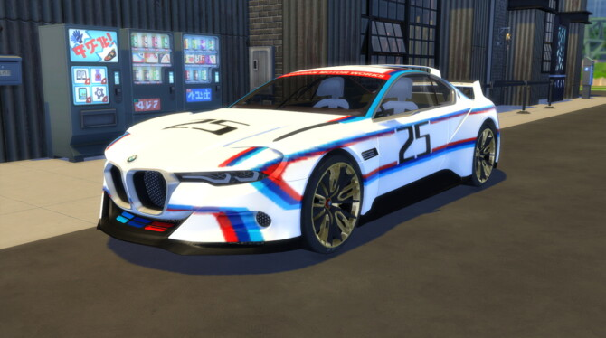 Sims 4 2015 BMW 3.0 CSL Hommage at LorySims