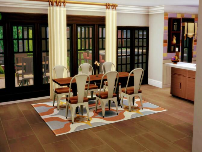 Sims 4 Rockerfeller house by LJaneP6 at TSR