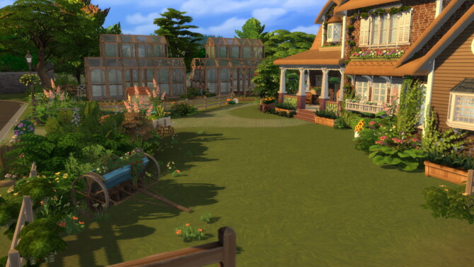 Sims 4 Big Farm by plumbobkingdom at Mod The Sims 4