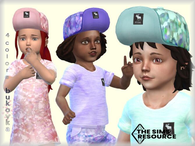 Sims 4 Tie Dye Cap by bukovka at TSR