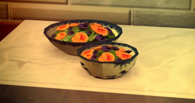 Sims 4 Edible Flower Salad Custom Recipe at Mod The Sims 4
