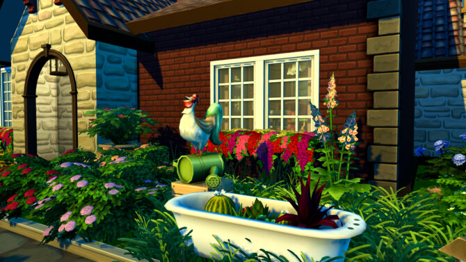 Sims 4 Cottage at Mrs.MilkiSims