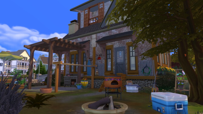 Sims 4 Comfy Cubby Tiny Homes by ynn016 at Mod The Sims 4