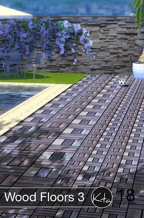 Sims 4 Wood Floors 3 at Ktasims