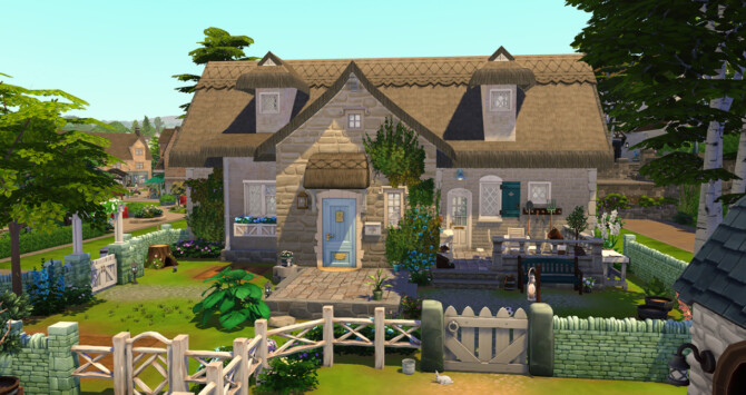 Sims 4 Charming Cottage at Simsontherope