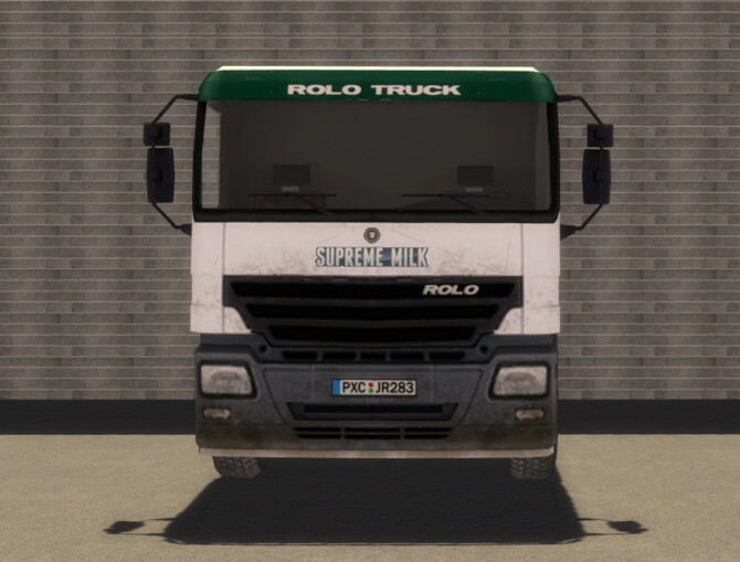Sims 4 Rolo Truck by SimsCraft at Mod The Sims 4