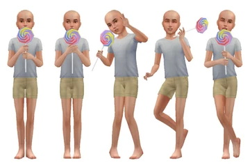 Sims 4 Big Lollipops [Child/Toddler] at A luckyday